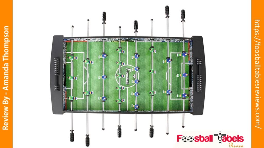 Hathaway Playoff Foosball Table Review - Best Foosball Tables