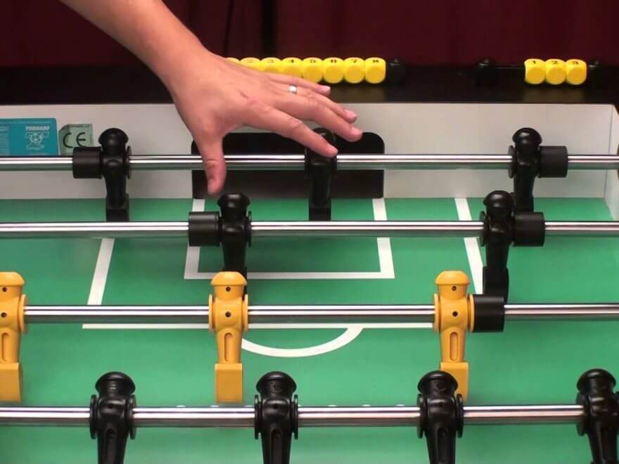 Foosball Aerial Shot Tips