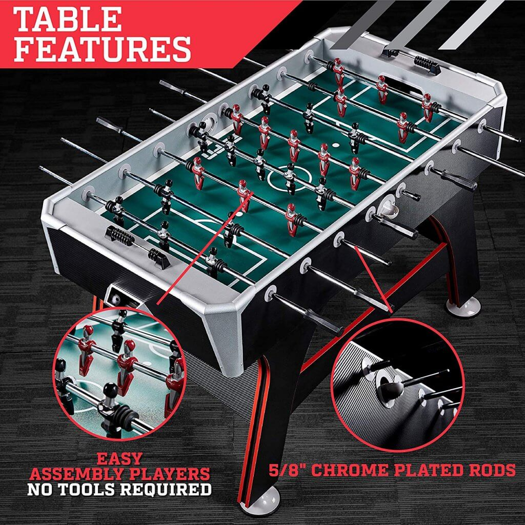 espn foosball table